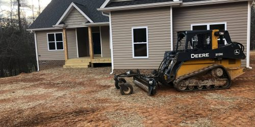 Land Grading & French Drains